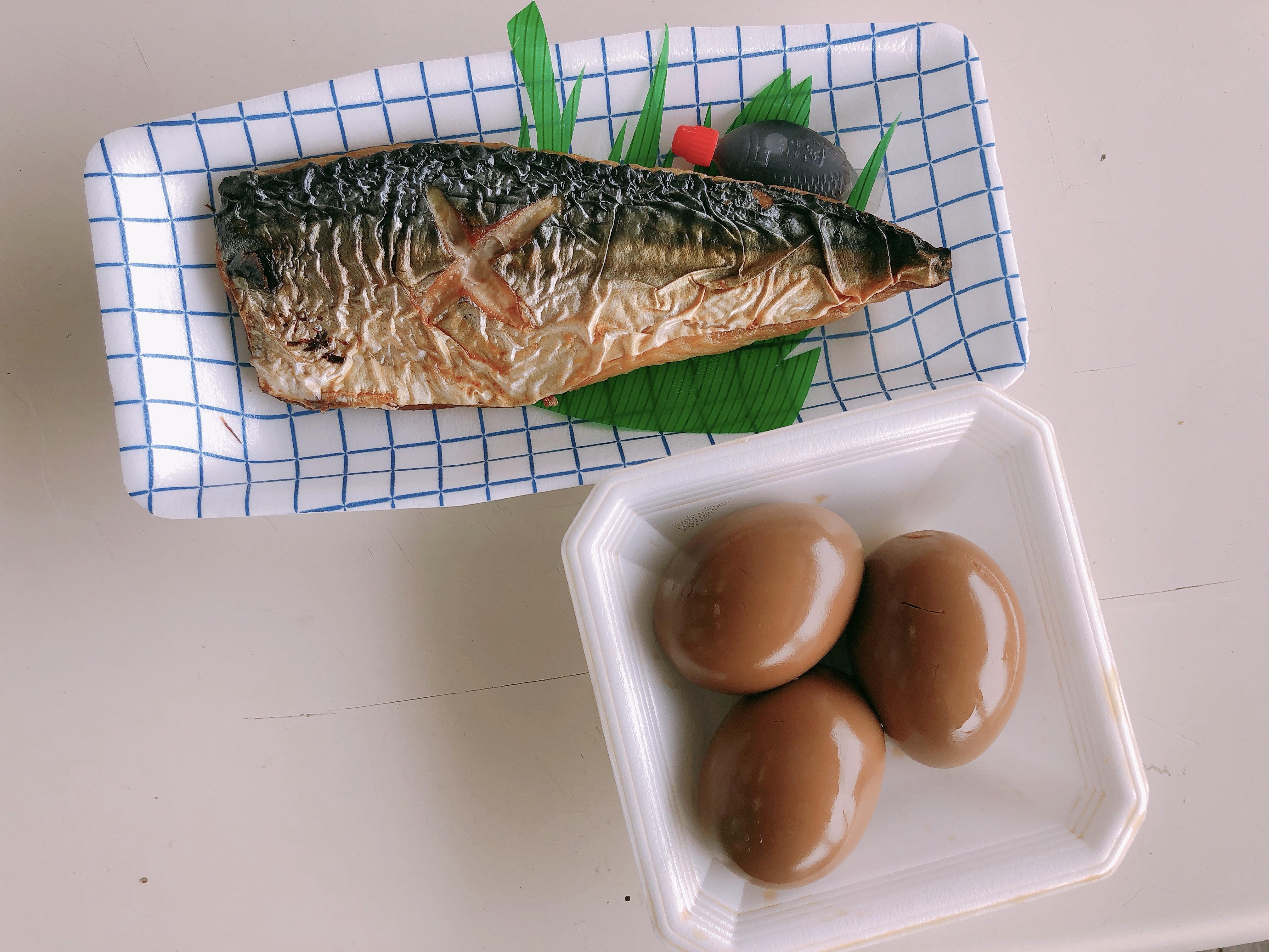 ライザップ12日目の食事。煮玉子は糖質倍増!食べるならゆで卵