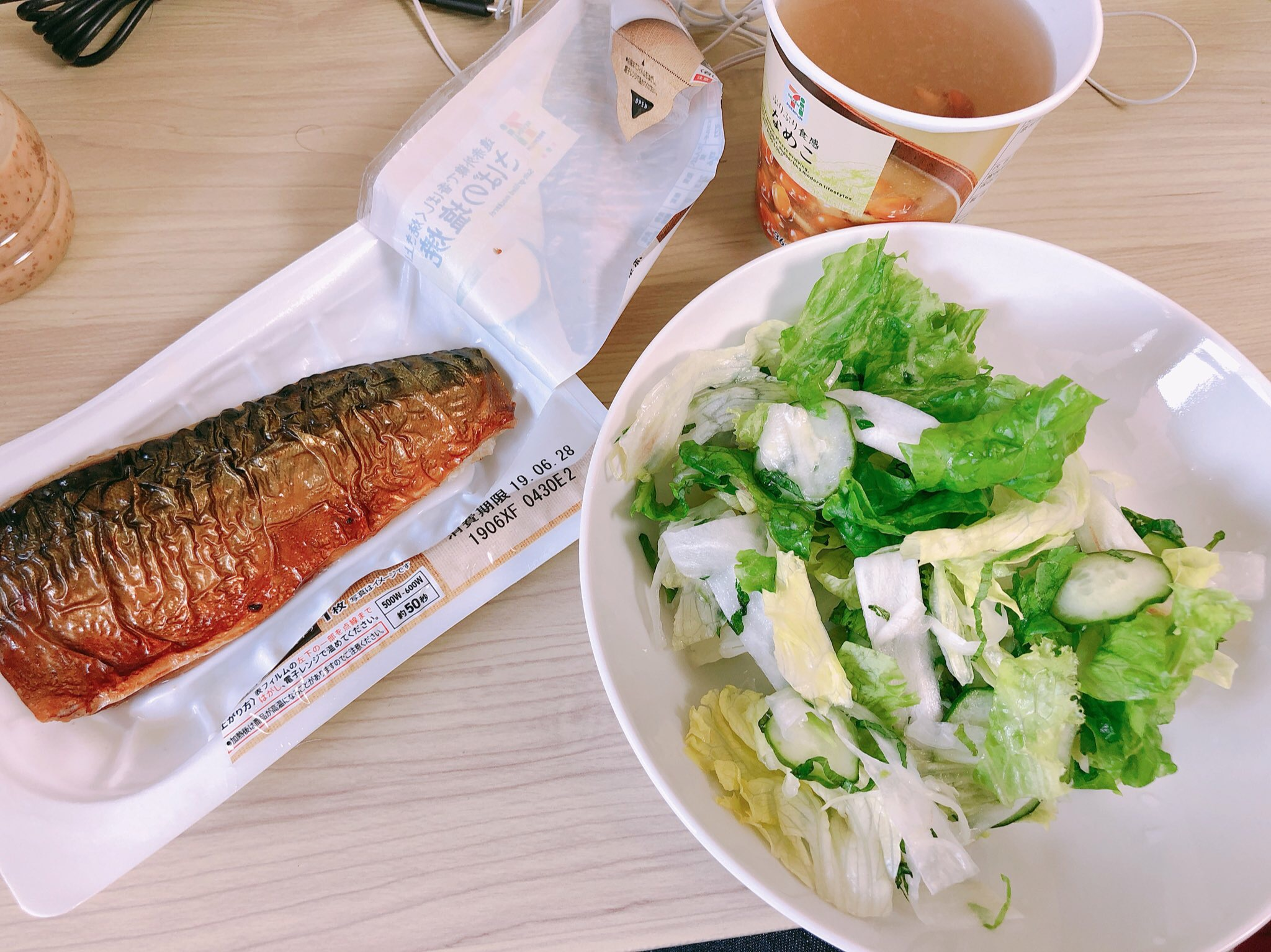 ライザップ48日目の食事。朝食にサバの塩焼きはアリ!