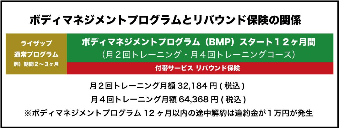 BMPとリバウンド保険
